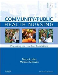 Community/Public Health Nursing 5th Edition 9781437708608 1437708609
