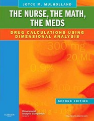 The Nurse, The Math, The Meds 2nd Edition 9780323069045 0323069045