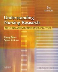 Understanding Nursing Research 5th Edition 9781437707502 1437707505