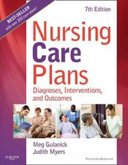 Nursing Care Plans - E-Book 8th Edition 9780323113564 0323113567