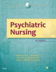 Psychiatric Nursing 6th Edition 9780323069519 0323069517