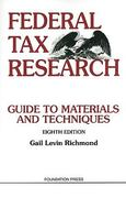 Federal Tax Research 8th Edition 9781599417424 1599417421