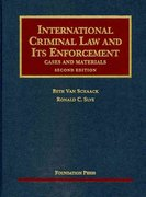 International Criminal Law and Its Enforcement 2nd edition 9781599417530 1599417537