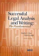 Successful Legal Analysis and Writing 3rd Edition 9780314908049 0314908048