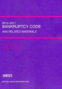 Bankruptcy Code and Related Source Materials, 2010-2011 0 9780314263056 0314263055