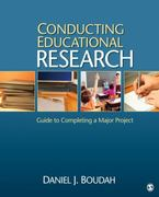 Conducting Educational Research 1st Edition 9781412979023 1412979021