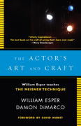 The Actor's Art and Craft 1st Edition 9780307279262 030727926X