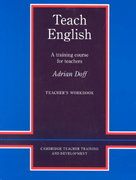 Teach English 22nd edition 9780521348638 0521348633