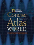 National Geographic Concise Atlas of the World, Second Edition 2nd edition 9781426201967 1426201966