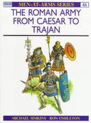 The Roman Army from Caesar to Trajan 2nd edition 9780850455281 0850455286