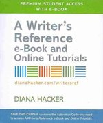 Writer's Reference 6e with 2009 MLA and 2010 APA Updates & E-Book 6th edition 9780312673086 0312673086