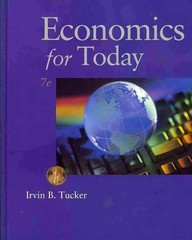 Economics for Today 7th edition 9780538469388 0538469382