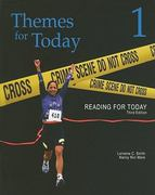 Reading for Today 1: Themes for Today 3rd Edition 9781111033583 1111033587