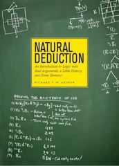 Natural Deduction 1st Edition 9781551111827 1551111829