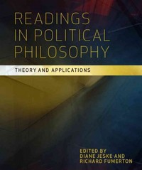 Readings in Political Philosophy 0 9781551117652 1551117657