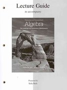 Lecture Guide Beginning and Intermediate Algebra 3rd edition 9780077296919 0077296915