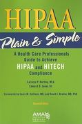 HIPAA Plain and Simple 2nd edition 9781603592055 1603592059