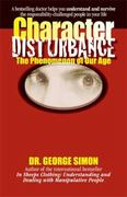 Character Disturbance 1st Edition 9781935166337 1935166336