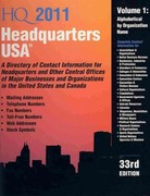 Headquarters USA 33rd edition 9780780811751 0780811755