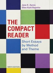 The Compact Reader 9th edition 9780312609603 0312609604