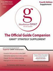 Official Guide Companion 12th edition 9780984178018 0984178015