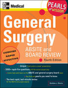 General Surgery ABSITE and Board Review: Pearls of Wisdom, Fourth Edition 4th edition 9780071546874 0071546871