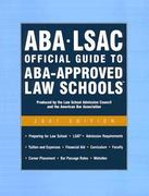 Aba - Lsac Official Guide to Aba-approved Law Schools 2007 0 9780976024552 0976024551
