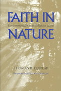 Faith in Nature 0 9780295983974 0295983973