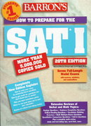 How to Prepare for SAT I 20th edition 9780764100000 0764100009