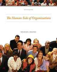 Human Side of Organizations 10th Edition 9780135139745 0135139740