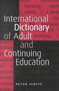 An International Dictionary of Adult and Continuing Education 2nd edition 9781134975037 1134975031
