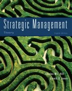 Strategic Management Theory 8th edition 9780618894765 0618894764