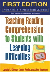 Teaching Reading Comprehension to Students with Learning Difficulties 1st Edition 9781593854461 1593854463
