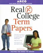 Real A+ College Term Papers 1st edition 9780028628769 0028628764
