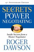 Secrets of Power Negotiating 3rd Edition 9781601631398 1601631391