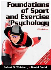 Foundations of Sport and Exercise Psychology 5th Edition 9780736083232 0736083235