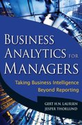 Business Analytics for Managers 1st Edition 9780470890615 0470890614