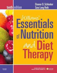 Williams' Essentials of Nutrition and Diet Therapy 10th edition 9780323068604 032306860X