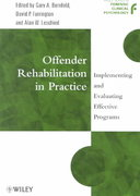 Offender Rehabilitation in Practice 1st Edition 9780471720263 0471720267