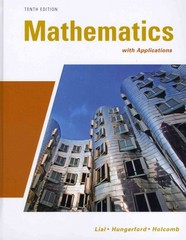 Mathematics with Applications plus MyMathLab/MyStatLab Student Access Code Card 10th edition 9780321624291 0321624297