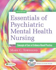 Essentials of Psychiatric Mental Health Nursing 5th Edition 9780803623385 0803623380