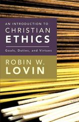 Introduction to Christian Ethics 1st Edition 9780687467365 0687467365