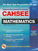 CAHSEE - Mathematics 0 9780738600000 0738600008