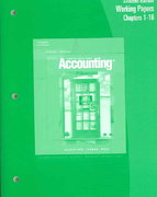 Working Papers, Chapters 1-24 for Gilbertson/Lehman/Ross' Century 21 Accounting: General Journal, 8th 8th edition 9780538972604 0538972602