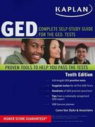 Kaplan GED 10th edition 9781607145905 1607145901