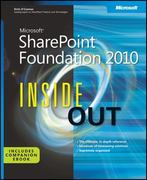 Microsoft SharePoint Foundation 2010 Inside Out 1st edition 9780735665583 0735665583
