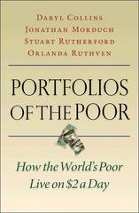 Portfolios of the Poor 1st Edition 9780691148199 0691148198