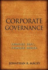 Corporate Governance 0 9780691148021 0691148023