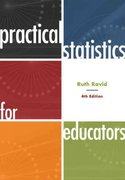 Practical Statistics for Educators 4th edition 9781442206557 1442206551