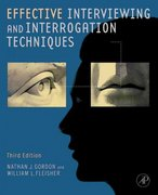 Effective Interviewing and Interrogation Techniques 3rd Edition 9780123819864 0123819865